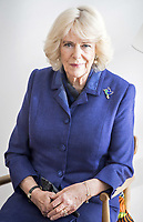 06/02/2020 - Camilla Duchess of Cornwall meets with participants of a Mindfulness session to hear how the centre has helped them through their ongoing treatment and recovery during a visit to Maggies at The Royal Marsden in Sutton, Greater London. Photo Credit: ALPR/AdMedia