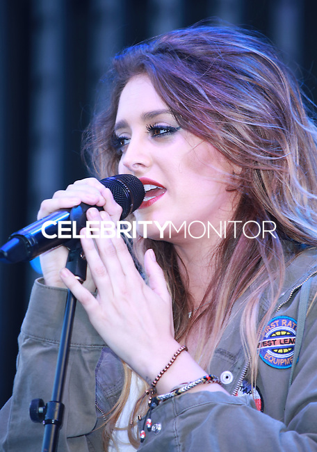 UNIVERSAL CITY, CA, USA - JULY 10: Moxie performs at Universal CityWalk's 'Music Spotlight Series' at Universal CityWalk on July 10, 2014 in Universal City, California, United States. (Photo by David Acosta/Celebrity Monitor)