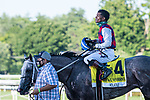 July 25, 2020:  Volatile ridden by Ricardo Santana, Jr. trained Steven Asmussen wins the Alfred G. Vanderbilt on Stakes on Alfred G Vanderbilt  Day at Saratoga Race Course in Saratoga Springs, New York. Rob Simmons/Eclipse Sportswire/CSM