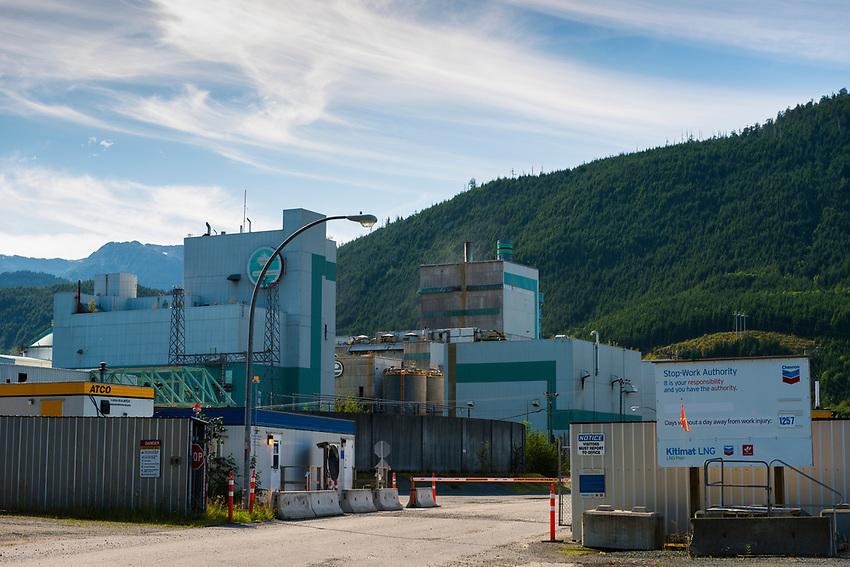 Shell/Kitimat LNG project, Kitimat B.C.  2017