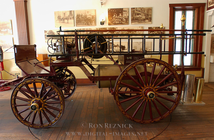 1891 Chemical Truck Plaza Fire Station Downtown LA