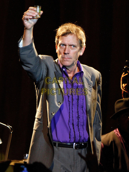 ATLANTA, GA., - NOVEMBER 03: Actor, pianist, singer and songwriter Hugh Laurie performed in concert at the Buckhead Theater on November 3, 2013 in Atlanta. Known to millions as &quot;Dr. Gregory House&quot; on the hit television show &quot;House&quot;, Laurie closed out his tour to a sold out crowd in support of his new album, &quot;Didn't It Rain&quot; on November 3, 2013 in Atlanta, GA., USA.<br /> CAP/ADM/DH<br /> &copy;Dan Harr/AdMedia/Capital Pictures