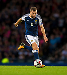Scotland's James McArthur during the World Cup Qualifying Group F match at Hampden Park Stadium, Glasgow. Picture date 4th September 2017. Picture credit should read: Craig Watson/Sportimage