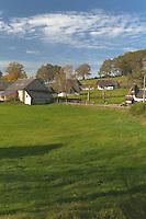 Plateau de Millevaches<br /> Toit de chaume