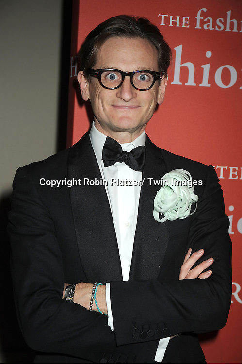 Hamish Bowles attends the Fashion Group International's 29th Annual  Night of Stars Gala on October 25, 2012 at Cipriani Wall Street in New York City.