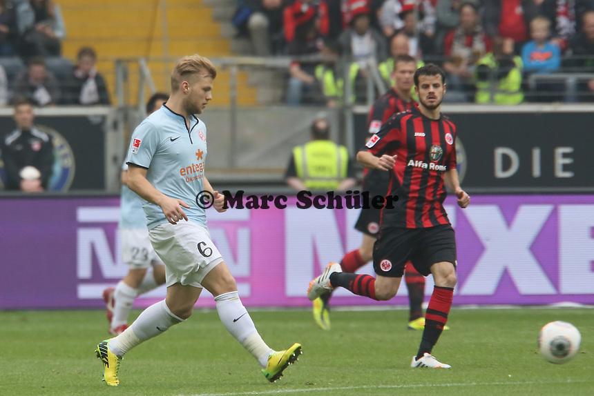 Johannes Geis (Mainz) gegen Tranquilo Barnetta (Eintracht) - Eintracht Frankfurt vs. 1. FSV Mainz 05