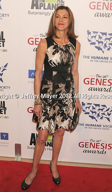 BEVERLY HILLS, CA - MARCH 24: Wendie Malick attends the 26th Genesis Awards at The Beverly Hilton Hotel on March 24, 2012 in Beverly Hills, California.