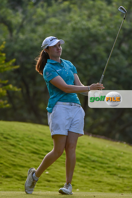 Leona Maguire (IRL) watches her tee shot on 11 during round 2 of the 2019 US Women's Open, Charleston Country Club, Charleston, South Carolina,  USA. 5/31/2019.<br /> Picture: Golffile | Ken Murray<br /> <br /> All photo usage must carry mandatory copyright credit (© Golffile | Ken Murray)