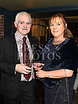 Aidan and Ann Mooney at the Ardee Traders Dinner in Muldoons. Photo:Colin Bell/pressphotos.ie