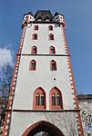 Holzturm, mittelalterlicher Stadtturm in Mainz - Wood Tower