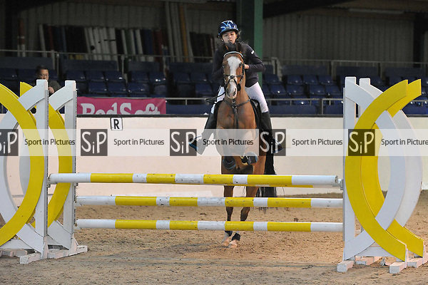 Class 8. 128 and 138 Handicap. British Showjumping (BS). Brook Farm Training Centre. Essex. 18/03/2017. MANDATORY Credit Garry Bowden/Sportinpictures - NO UNAUTHORISED USE - 07837 394578