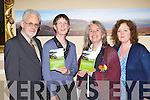 Mary Rose Bogan Killorglin with her guest speakers at the launch of her new book 'Walk with the Writers in Killarney National Park' in the Malton Hotel Killarney last Thursday evening l-r: Frank Lewis, Mary Rose Bogan, Marie Holmes and Liz Ryan....