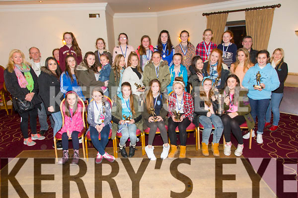 The Kerins O'Rahillys Girls awards night at the Clubhouse on Friday