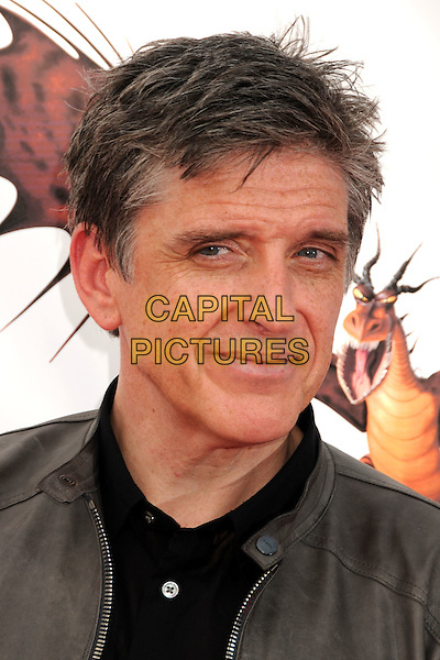 "CRAIG FERGUSON .""How To Train Your Dragon"" Los Angeles Premiere held at the Gibson Amphitheatre, Universal City, California, USA, 21st March 2010..arrivals portrait headshot grey gray black shirt leather .CAP/ADM/BP.©Byron Purvis/AdMedia/Capital Pictures."
