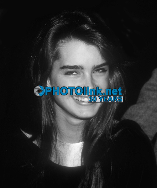 Brooke Shields 1984<br /> Photo By John Barrett/PHOTOlink.net