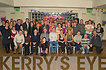 Key to the Door - James Slattery from Abbeydorney, seated centre having a ball with family and friends at his 21st birthday bash held in The Ballyroe Heights Hotel on Saturday night................................................................................................................................ ............