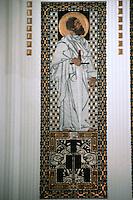 Otto Wagner: Church AM Steinhof, Vienna. Detail.