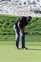 Phil Mickelson (USA) putts on the 3rd green during Thursday's Round 1 of the 2018 AT&amp;T Pebble Beach Pro-Am, held over 3 courses Pebble Beach, Spyglass Hill and Monterey, California, USA. 8th February 2018.<br /> Picture: Eoin Clarke | Golffile<br /> <br /> <br /> All photos usage must carry mandatory copyright credit (&copy; Golffile | Eoin Clarke)