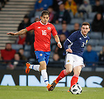 23.3.2018: Scotland v Costa Rica:<br /> Andy Robertson and Christian  Gamboa