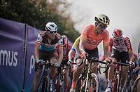 Greg VAN AVERMAET (BEL/CCC) on top of the Paterberg<br /> <br /> 103rd Ronde van Vlaanderen 2019<br /> One day race from Antwerp to Oudenaarde (BEL/270km)<br /> <br /> ©kramon