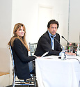 Imran Khan ,ex Pakistani Test Match cricketer  and now politician, at Blenheim Palace at  The Woodstock  Literary Festival in Oxfordshire  2011 where he was talking with ex-wife Jemina Khan about his new book.   . Credit Geraint Lewis