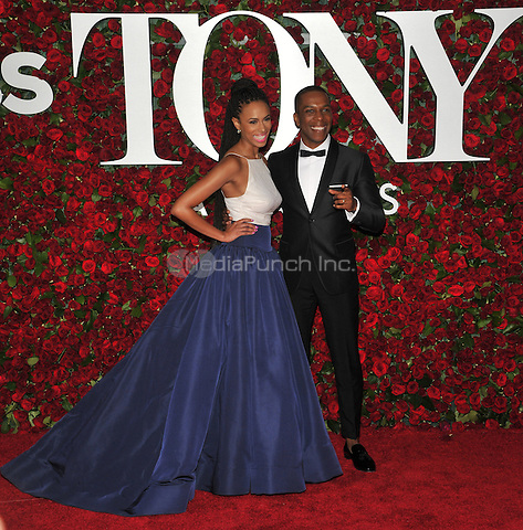 NEW YORK, NY - JUNE 12: Nicolette Robinson at the 70th Annual Tony Awards at The Beacon Theatre on June 12, 2016 in New York City. Credit: John Palmer/MediaPunch