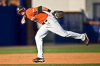 May 30, 2009:  NCAA Division 1 Gainesville Regional:     Miami INF Ryan Jackso (8) during 2nd round regional action at Alfred A. McKethan Stadium on the campus of University of Florida in Gainesville. Host University of Florida Gators defeated Miami Hurricanes  8-2 to advance in the Winners bracket.............