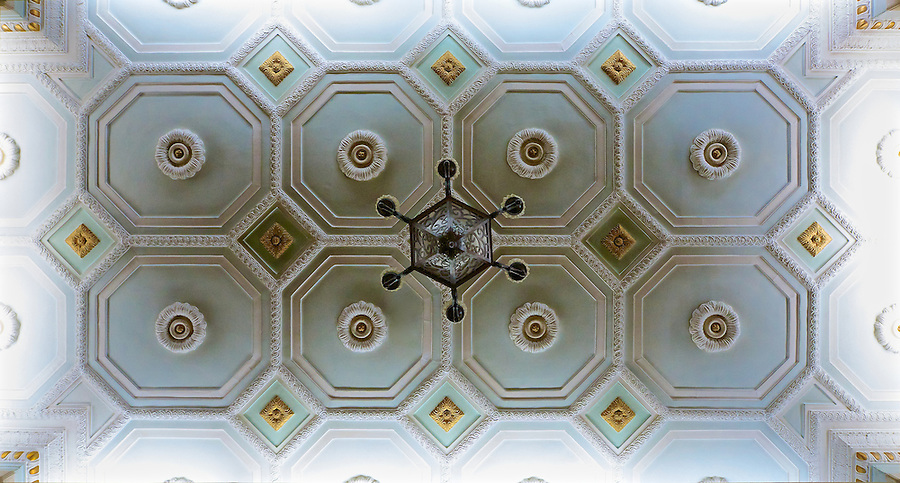 Ceiling In The SMR's Yamato Hotel, Zhongshan Square, Shenyang (Mukden).