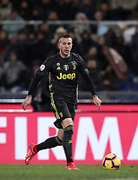 Football, Serie A: S.S. Lazio - Juventus, Olympic stadium, Rome, January 27, 2019. <br /> Juventus' Federico Bernardeschi in action during the Italian Serie A football match between S.S. Lazio and Juventus at Rome's Olympic stadium, Rome on January 27, 2019.<br /> UPDATE IMAGES PRESS/Isabella Bonotto