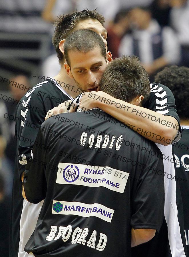 Kosarka Euroleague season 2012-2013.Partizan Vs. Besiktas Istanbul.Nemanja Gordic and Vladimir Dasic.Beograd, 15.11.2012..foto: Srdjan Stevanovic/Starsportphoto ©