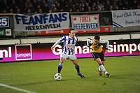 VOETBAL: SC HEERENVEEN: Abe Lenstra Stadion, 17-02-2012, SC-Heerenveen-NAC, Eredivisie, Eindstand 1-0, Sven Kums, Ömer Bayram, ©foto: Martin de Jong