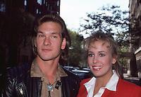 Patrick Swayze & Genie Francis 1986 by<br /> Jonathan Green