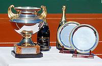 16-7-06,Scheveningen, Siemens Open, doubles final, Trophy table