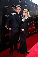 PASADENA - May 5: Darin Brooks, Kelly Kruger at the 46th Daytime Emmy Awards Gala at the Pasadena Civic Center on May 5, 2019 in Pasadena, California