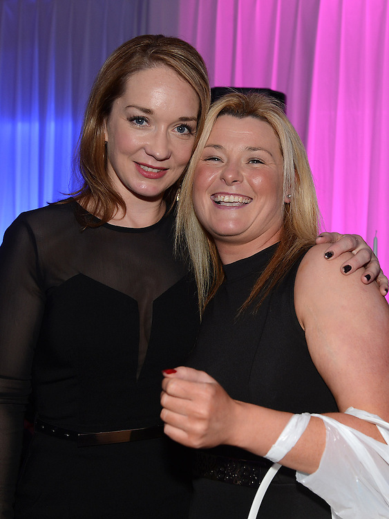 Gillian Maguire and Celine McAteer pictured at the Stephanie Smith benefit night in The Star Bar. Photo:Colin Bell/pressphotos.ie