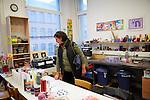 15.10.2015, Berlin. Neujahrsempfang der ZWST im Künstleratelier/Behindertenwerkstatt OMANUT. (Photo by Gregor Zielke)