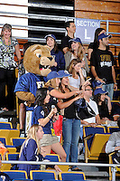 12 January 2012:  FIU fans cheer on their team in the first half as the Middle Tennessee State University Blue Raiders defeated the FIU Golden Panthers, 74-60, at the U.S. Century Bank Arena in Miami, Florida.