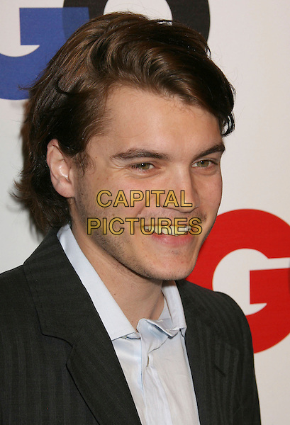 "EMILE HIRSCH.2007 GQ ""Men of the Year"" held at The Chateau Marmont, Los Angeles, California, USA..December 5th, 2007.headshot portait .CAP/ADM/RE.©Russ Elliot/AdMedia/Capital Pictures."