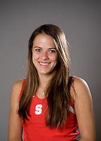 Nicole Gibbs of the Stanford tennis team.