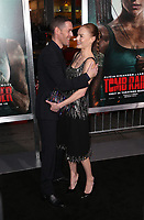HOLLYWOOD, CA - MARCH 12: Michael Polish, Kate Bosworth, at The US premiere of Tomb Raider at the TCL Chinese Theatre in Hollywood, California on March 12, 2018. Credit: Faye Sadou/MediaPunch<br /> CAP/MPIFS<br /> &copy;MPIFS/Capital Pictures
