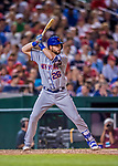 28 April 2017: New York Mets catcher Kevin Plawecki pinch hits in the 8th inning against the Washington Nationals at Nationals Park in Washington, DC. The Mets defeated the Nationals 7-5 to take the first game of their 3-game weekend series. Mandatory Credit: Ed Wolfstein Photo *** RAW (NEF) Image File Available ***