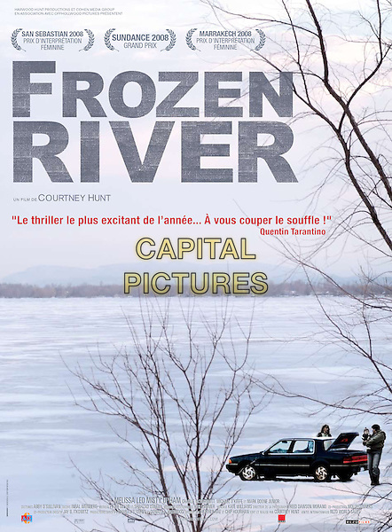 POSTER ART.in Frozen River.*Filmstill - Editorial Use Only*.CAP/PLF.Supplied by Capital Pictures.