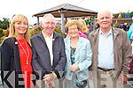 Dawn O'Hara (Ballyheigue) John O'Halloran (New York) Mary O'Hara and Pat O'Hara (Ballyheigue) pictured at Ballyheigue Pattern day on Sunday.
