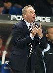 Ally McCoist tries to make some tactical changes