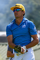 Rafael Cabrera Bello (ESP) watches his tee shot on 12 during Rd4 of the 2019 BMW Championship, Medinah Golf Club, Chicago, Illinois, USA. 8/18/2019.<br /> Picture Ken Murray / Golffile.ie<br /> <br /> All photo usage must carry mandatory copyright credit (© Golffile | Ken Murray)