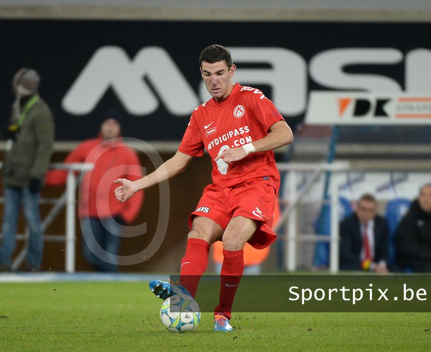 AA Gent - KV Kortrijk : Michael Heylen<br /> foto VDB / Bart Vandenbroucke