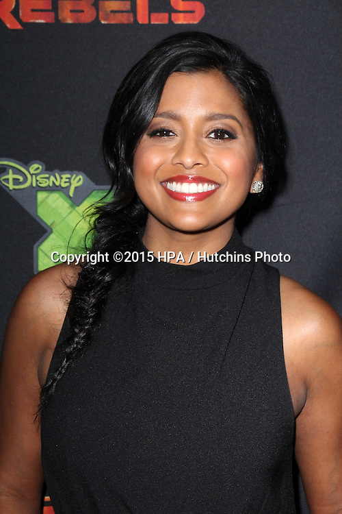 """LOS ANGELES - FEB 18:  Tiya Sircar at the Global Premiere of """"Star Wars Rebels"""" Season 2 at the Star Wars Celebration, Anaheim Convention Center on April 18, 2015 in Anaheim, CA"""