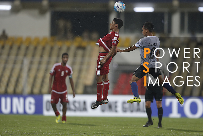 India vs United Arab Emirates during their AFC U-16 Championship India 2016 Group A match at Pandit Jawaharlal Nehru Stadium on 15 September 2016, in Goa, India. Photo by Stringer / Lagardere Sports