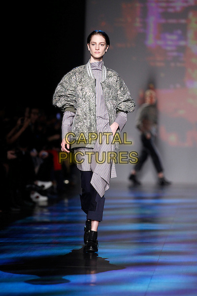 VIVIENNE TAM<br /> New York Fashion Week FW 17 18<br /> in New York, USA February 2017.<br /> CAP/GOL<br /> &copy;GOL/Capital Pictures