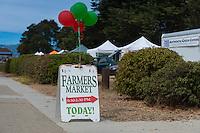 Sausalito Farmers Market Sign